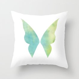 Tropical Fairy Throw Pillow