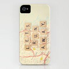 let's run away Slim Case iPhone (4, 4s)