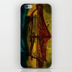 An ancient ship iPhone & iPod Skin