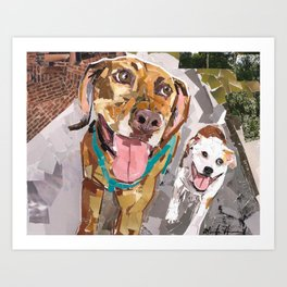Remo and Lucky Art Print