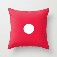 Red Dice 1 Throw Pillow
