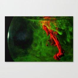 Rhodamine B with merbromin Canvas Print