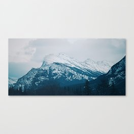 Mt. Rundle Canvas Print