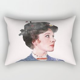 Mary Poppins - Watercolor Rectangular Pillow