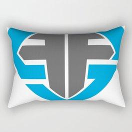 Finish Strong Fitness Logo Rectangular Pillow