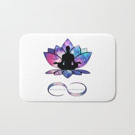 Free your Soul to Infinity Bath Mat