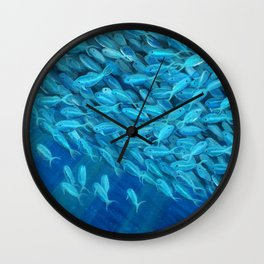 Oceans of Plenty Wall Clock