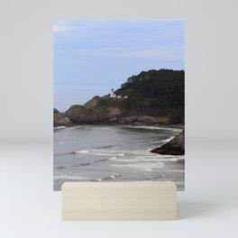 Heceta Head Lighthouse Mini Art Print
