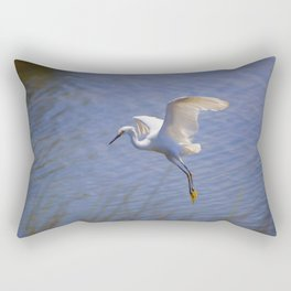 Graceful Landing Rectangular Pillow