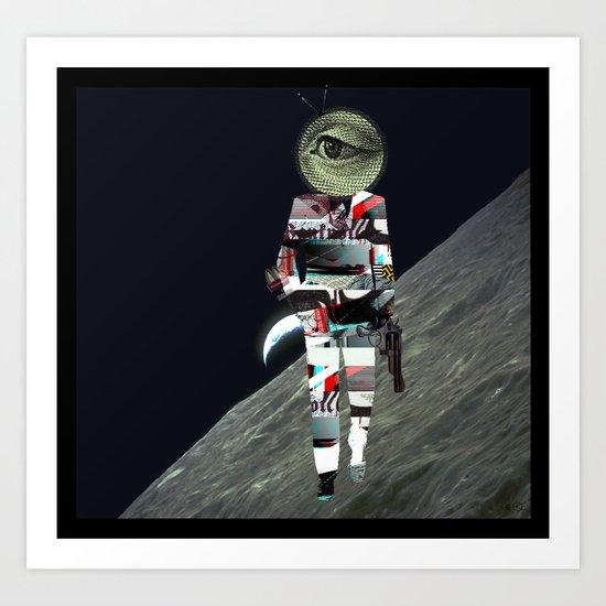20 Space Art Print