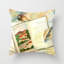 Stories (Histórias) Throw Pillow