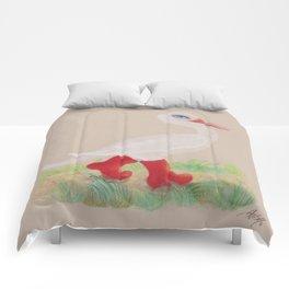 a Snozzleberry Swan excursion Comforters