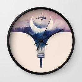 Fleeting Moments Wall Clock