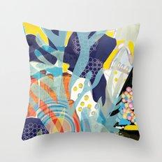 Aquatic 2 Throw Pillow