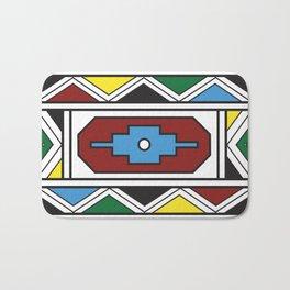 Ndebele Print Bath Mat