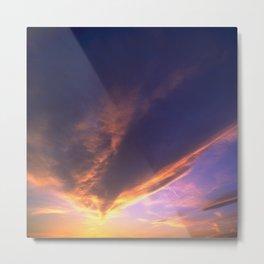Ominous Cloud: Looking for Rays of Hope Metal Print