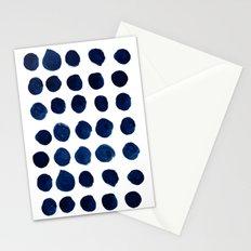 Blue Dots Stationery Cards