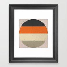 COLOR PATTERN III - TEXTURE Framed Art Print