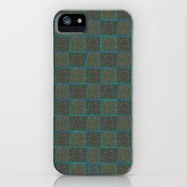 Under the Influence (Marimekko) Putty Checks iPhone Case