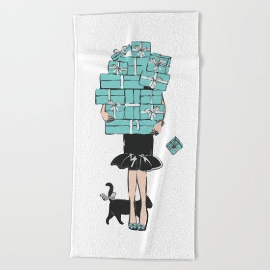 Tiffany gift Beach Towel