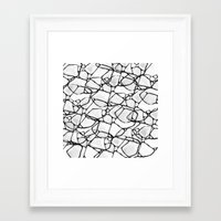 random Framed Art Prints featuring Random by Cr7izbest