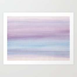 Pastel Watercolor Dream #1 #painting #decor #art #society6 Art Print