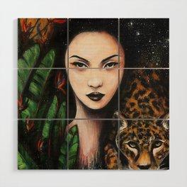 Fierce Beauty Wood Wall Art
