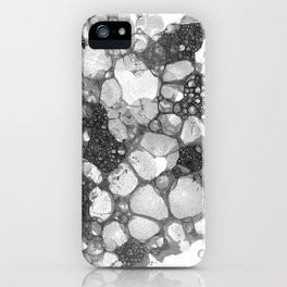 Ink Bubbles, II iPhone Case
