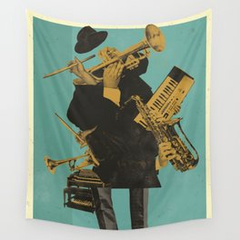 ABSTRACT JAZZ Wall Tapestry