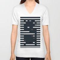 bug V-neck T-shirts featuring Bug by allan redd