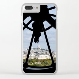 Paris from Musee d'Orsay Clear iPhone Case
