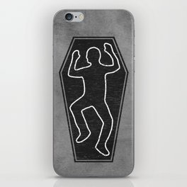 Chalk Outline iPhone Skin