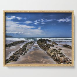 Widemouth Bay Rock Formation Serving Tray