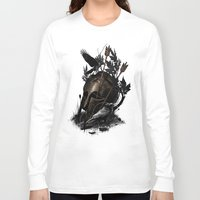 fall Long Sleeve T-shirts featuring Legends Fall by nicebleed