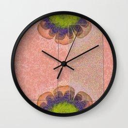 Stayship Raw Flower  ID:16165-073856-48551 Wall Clock