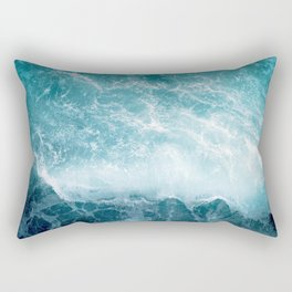 Crashing Wave Rectangular Pillow
