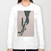 alice Long Sleeve T-shirts featuring Alice by Jane Lacey Smith