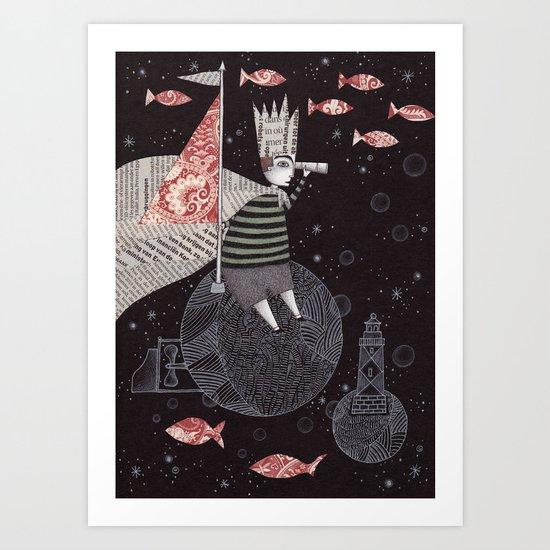 Five Hundred Million Little Bells (3) Art Print