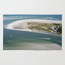 Rich's Inlet at the North End of Figure 8 Island 2 | Wilmington NC Rug