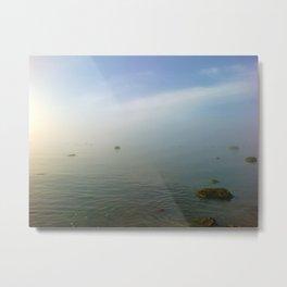 Sea and sky melting the horizon... Metal Print