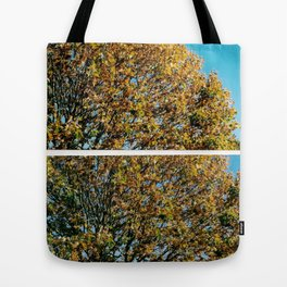 The beginnings of Autumn Tote Bag