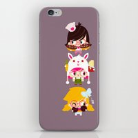 doll iPhone & iPod Skins featuring Doll by Geek