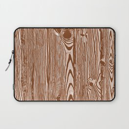 c13D Woodgrain Laptop Sleeve