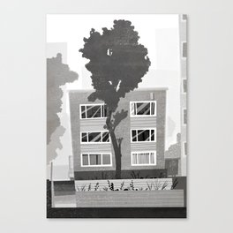 Places I've Lived Series - 8 Canvas Print
