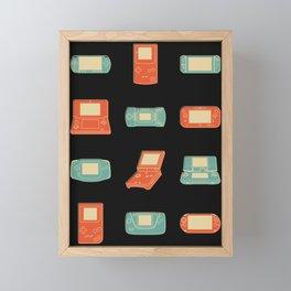 Handheld History Framed Mini Art Print