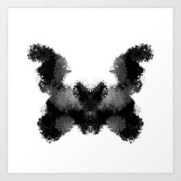 Rorschach v.1 Art Print
