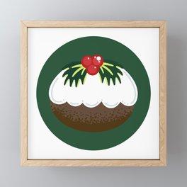 Get Figgy With It Green Framed Mini Art Print