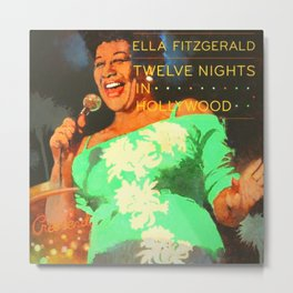 Ella Sings Metal Print