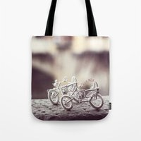 florence Tote Bags featuring Florence by farsidian