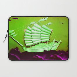Asian Battle Ship Laptop Sleeve
